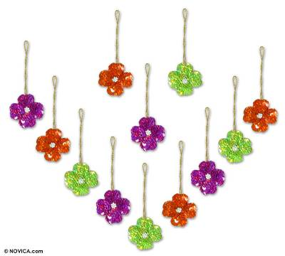 Beadwork ornaments (Set of 12)