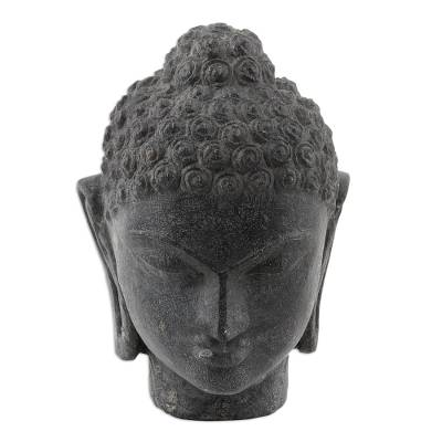 Hand Crafted Buddha Stone Sculpture