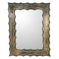 NOVICA - India - All mirrors - Mirror, 'Beyond Time' :  mirror wall vain novica