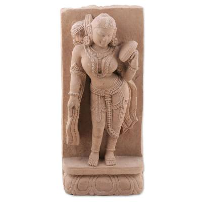 Handmade Natural Sandstone Sculpture from India