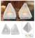 Soapstone candleholders, 'Lace Pyramid' (pair) - Hand Crafted Jali Soapstone Candle Holders (Pair) thumbail