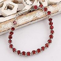 Garnet bracelet,