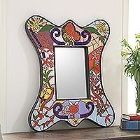 Mosaic mirror,