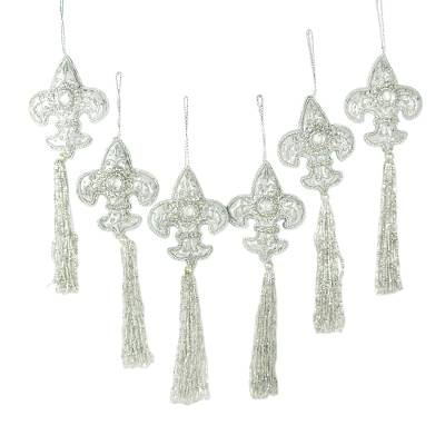 Beaded ornaments (Set of 6)
