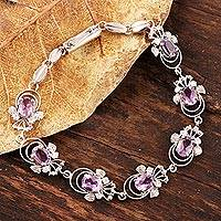 Featured review for Amethyst bracelet, Mystical Butterflies