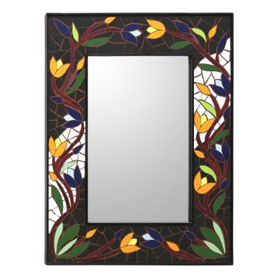 Hand Made Mosaic Ceramic Wall Mirror