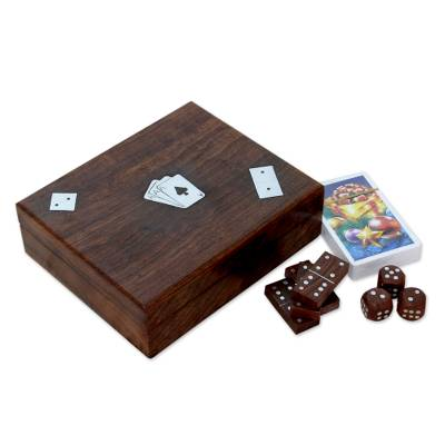 dice box game set