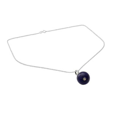 Hand Made Sterling Silver and Lapis Lazuli Necklace