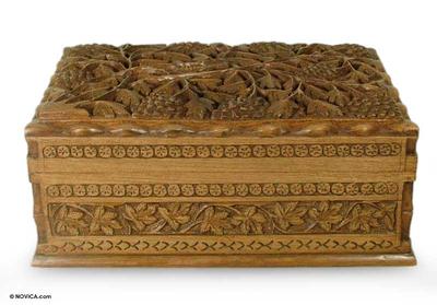 Hand Made Wood Jewelry Box