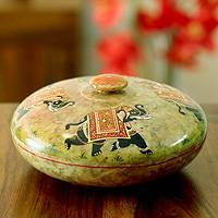 Soapstone bowl,