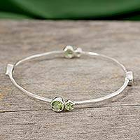 Featured review for Peridot bangle bracelet, Tango