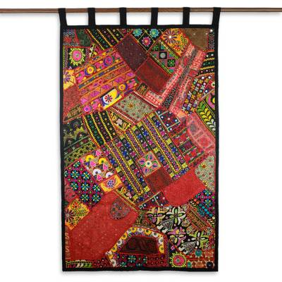 Gujarati Recycled Cotton Wall Hanging from India