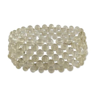 Artisan Crafted Jewelry Citrine Stretch Bracelet