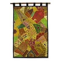 Cotton wall hanging,