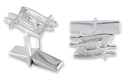 Sterling silver cufflinks