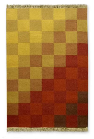 Wool rug (4x6)