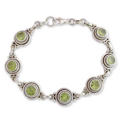Peridot Bracelet Women