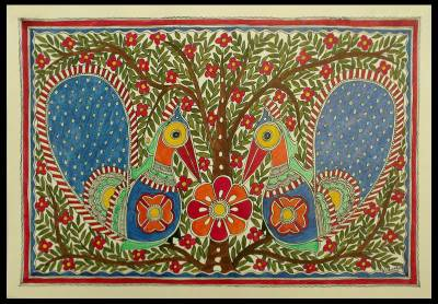 Madhubani Painting from India