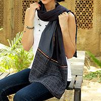 Silk scarf,