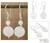 Moonstone dangle earrings, 'Luminosity' - Moonstone dangle earrings thumbail