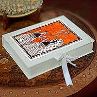 Madhubani greeting cards,