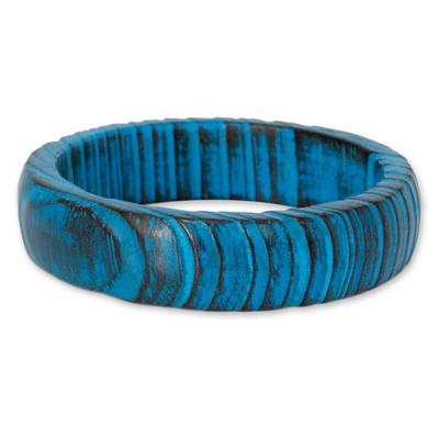 Hand Crafted Mango Wood Bangle Bracelet