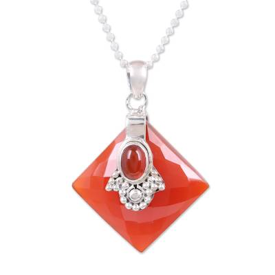Carnelian Necklace from Indian Jewelry Collection