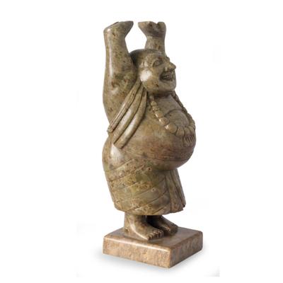 Handmade Natural Soapstone Sculpture