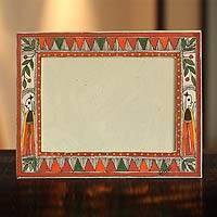 Madhubani photo frame,