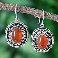 Sterling Silver Dangle Earrings Tradition (india)