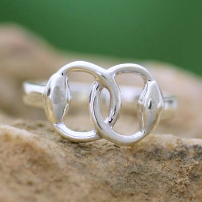 925 silver necklace clasp pdf - Fair Trade Modern Sterling Silver Band Ring