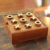 Wood game set,