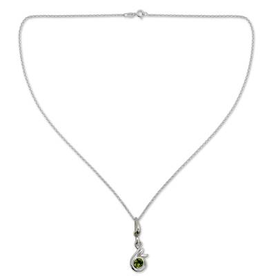 Peridot Necklace from Indian Modern Jewelry Collection