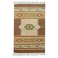 Cotton rug,