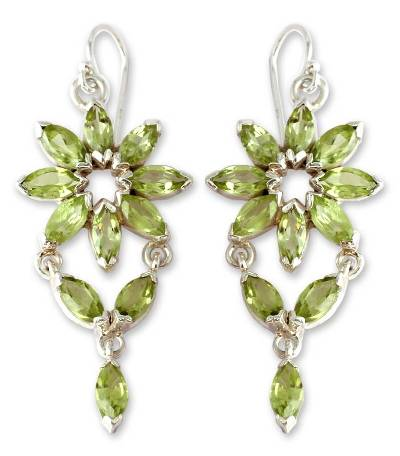 Fair Trade Peridot Earrings