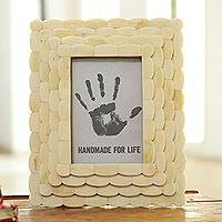 Bone photo frame,