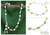 Cultured pearl and peridot anklet, 'Kanpur Summer' - Pearl and Peridot Anklet from India Handmade Jewelry thumbail