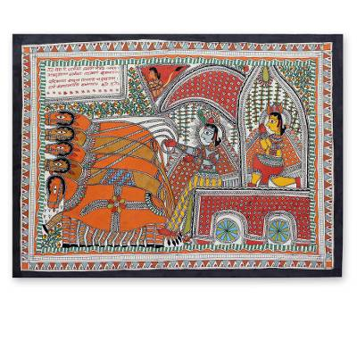Original Madhubani Painting