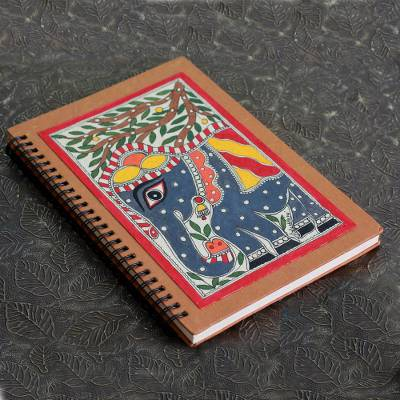 Madhubani journal, Royal Elephant