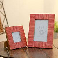 Indian elm wood photo frames,