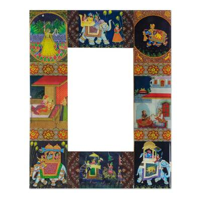 Decoupage photo frame (4x6)