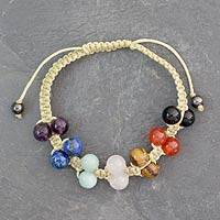 Featured review for Gemstone chakra bracelet, Inner Balance