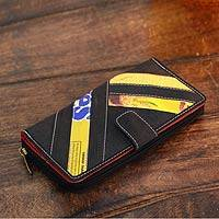Recycled clutch wallet,
