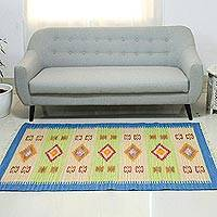 Wool rug New Traditions 4x6 India