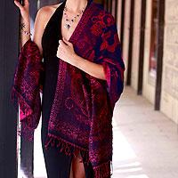 Jamawar wool shawl,