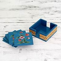Wood coasters,