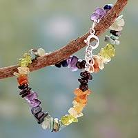 Featured review for Multi-gemstone chakra bracelet, Tranquil Mind