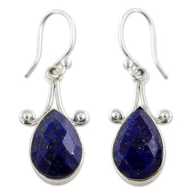 Artisan Crafted Lapis Lazuli and Sterling Silver Jewelry