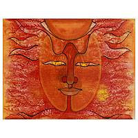 'The Sun God' - Sun God Painting