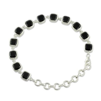 Onyx Bracelet Fair Trade Jewelry